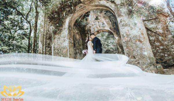 Chụp ảnh cưới ở Ba Vì
