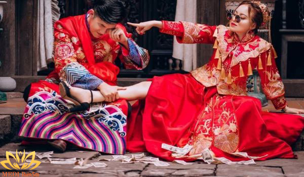 Chụp ảnh cưới Trung Quốc cổ trang đẹp tại Hà Nội