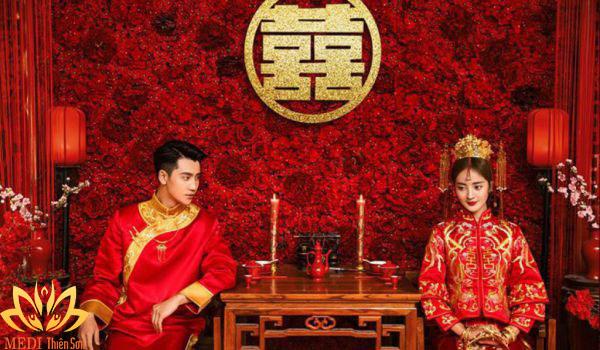 Chụp ảnh cưới Trung Quốc rồng-phượng