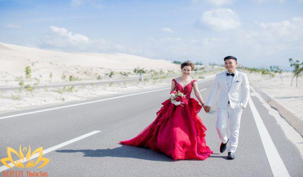 Ngân sách chụp ảnh cưới ngoại cảnh