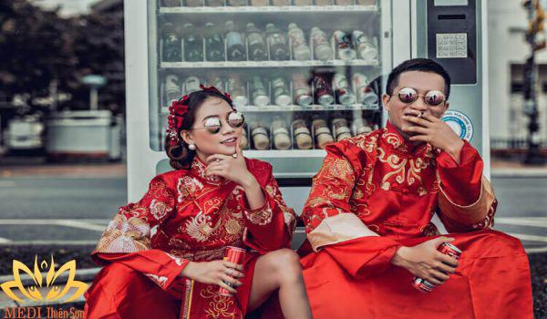 Chụp ảnh cưới Trung Quốc cổ trang