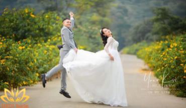 Chụp ảnh cưới ngoại cảnh MEDI Thiên Sơn