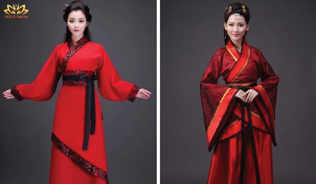 Chụp ảnh cưới Trung Quốc với Hán phục