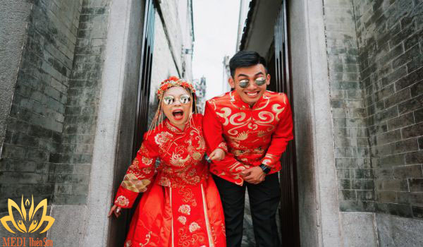 Chụp ảnh cưới Trung Quốc được yêu thích