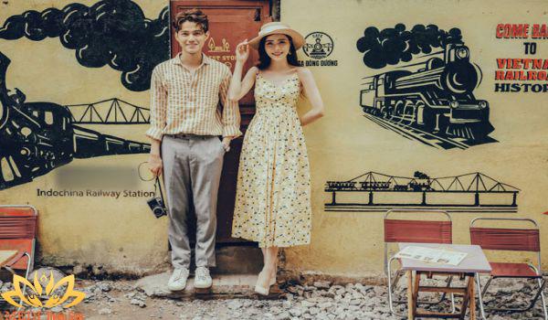 Chup ảnh cưới Vintage tại những quán cafe