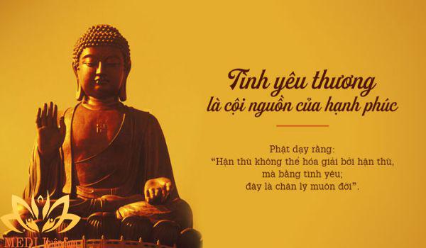 Lời Phật dạy về hạnh phúc, cội nguồn là yêu thương
