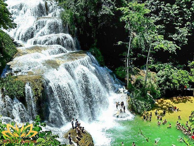 thác nước gần hà nội