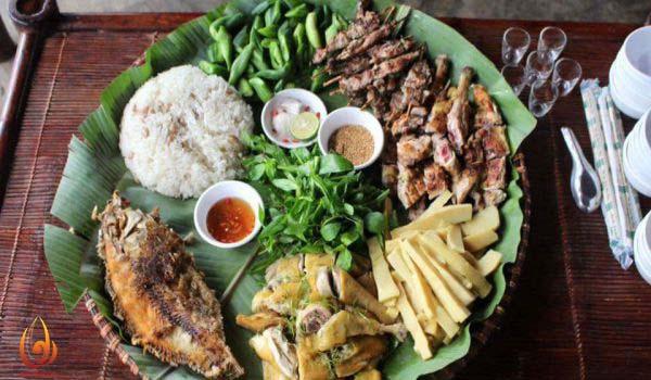 Ẩm thực dân tộc Thái Ba Vì