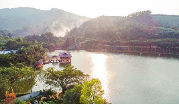 Khu du lịch hồ Tiên Sa Ba Vì điểm đến hấp dẫn