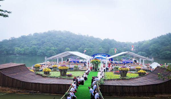 Sân khấu nổi hoành tráng tại MEDI Thiên Sơn