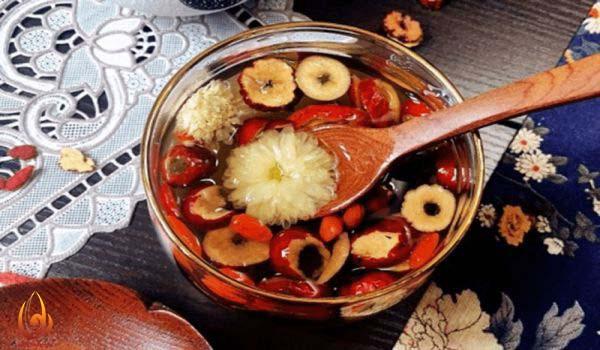 Trà dưỡng nhan tại MEDI Thiên Sơn